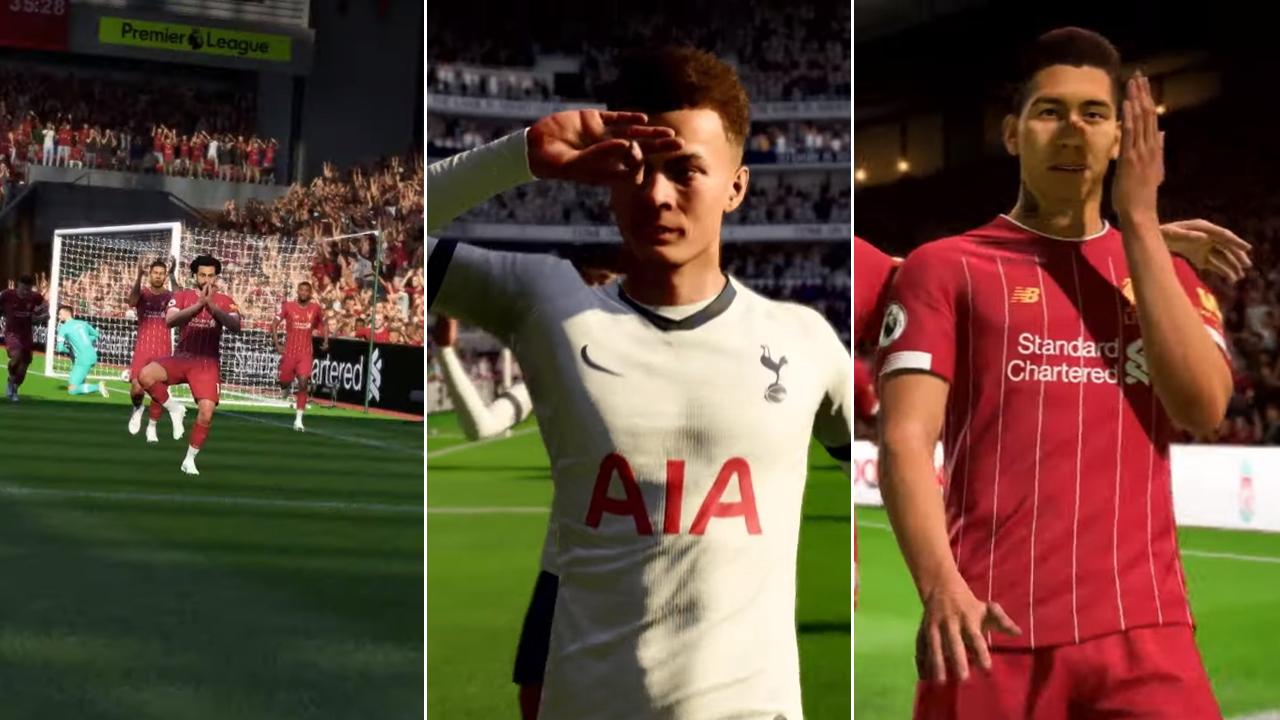 Много нови начини за радост след гол на FIFA 20 (ВИДЕО)