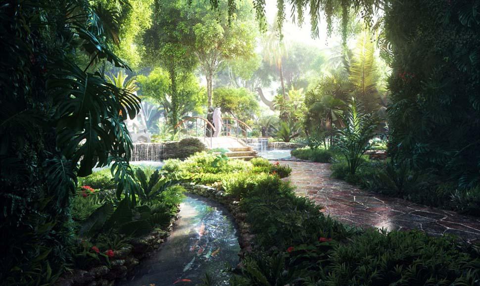Дубай се гордее с първия в света хотел със собствена джунгла