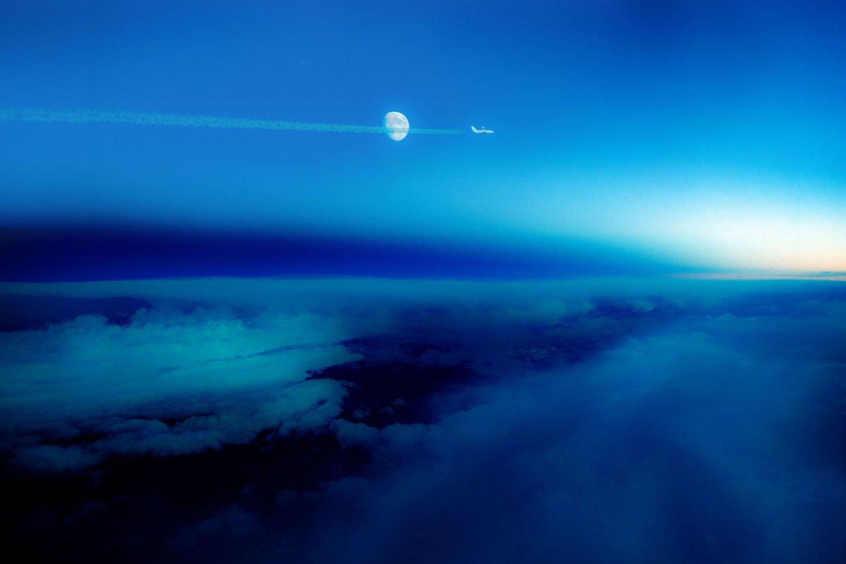 Снимки, направени от пилоти по време на полет