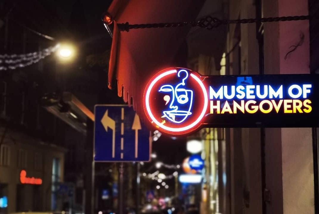 Отвори първият музей на махмурлука в света! Наздраве!