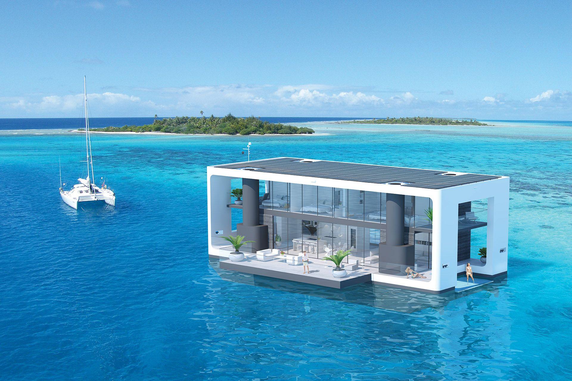 ВИДЕО: Това плаващо жилище ще те откъсне от сивото ежедневие