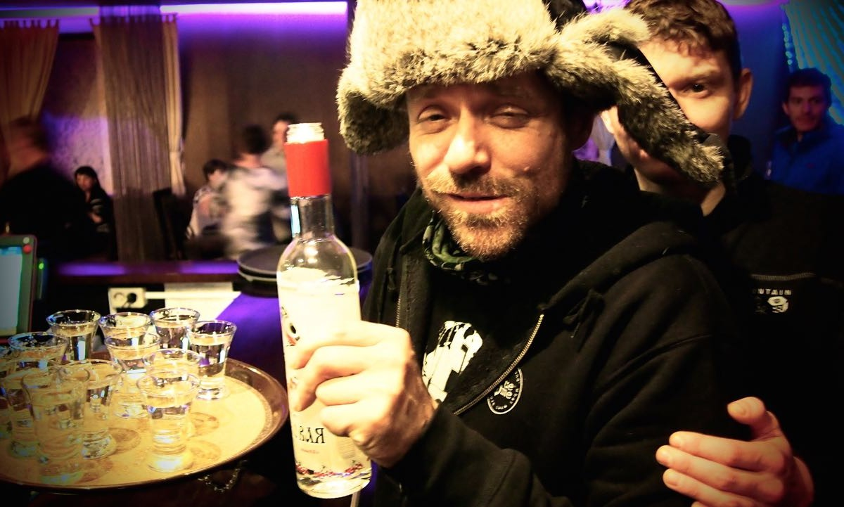 Русия празнува деня на водката. Наздраве!