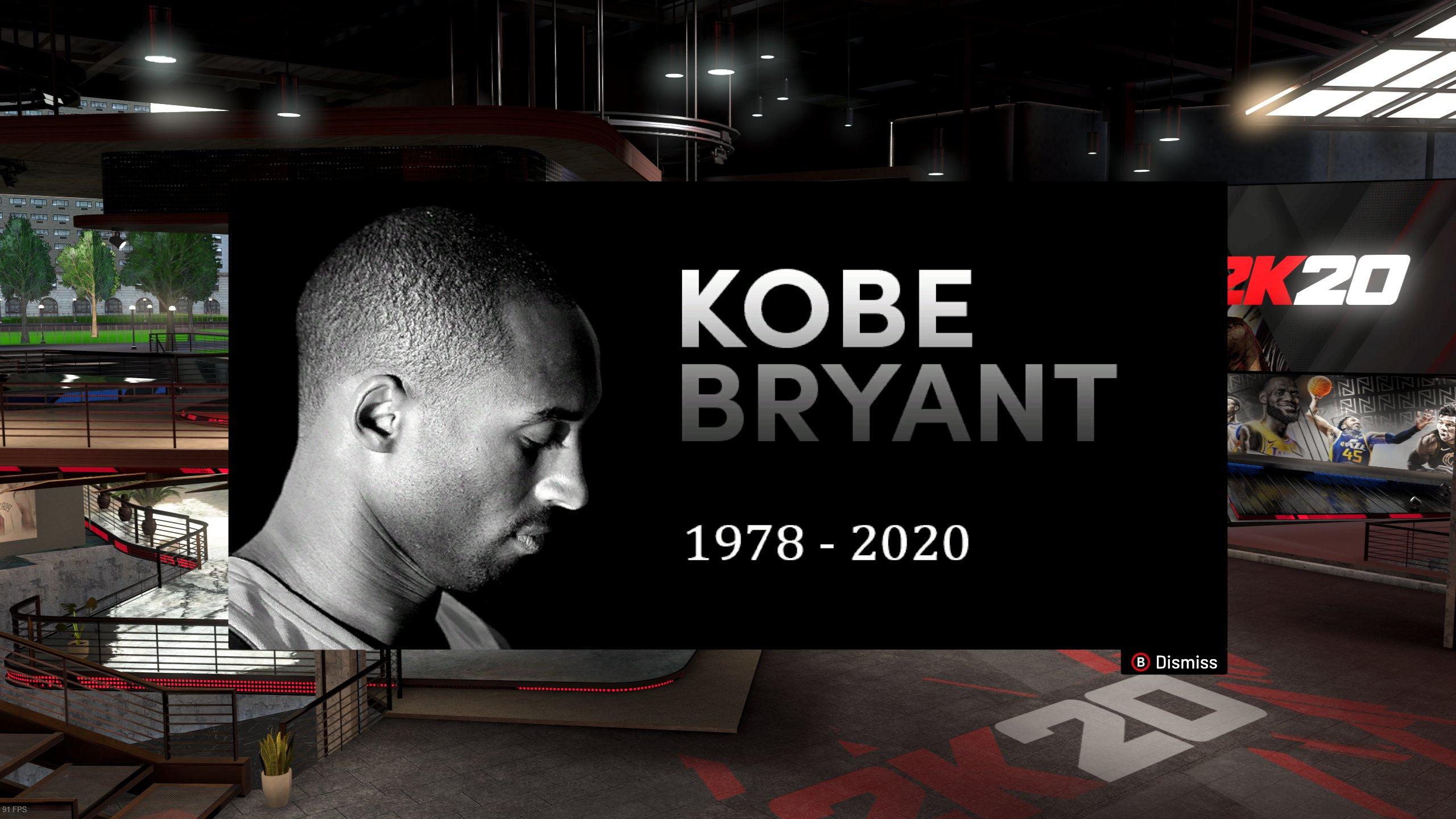 И EA Sports почете паметта на Кобе Брайънт