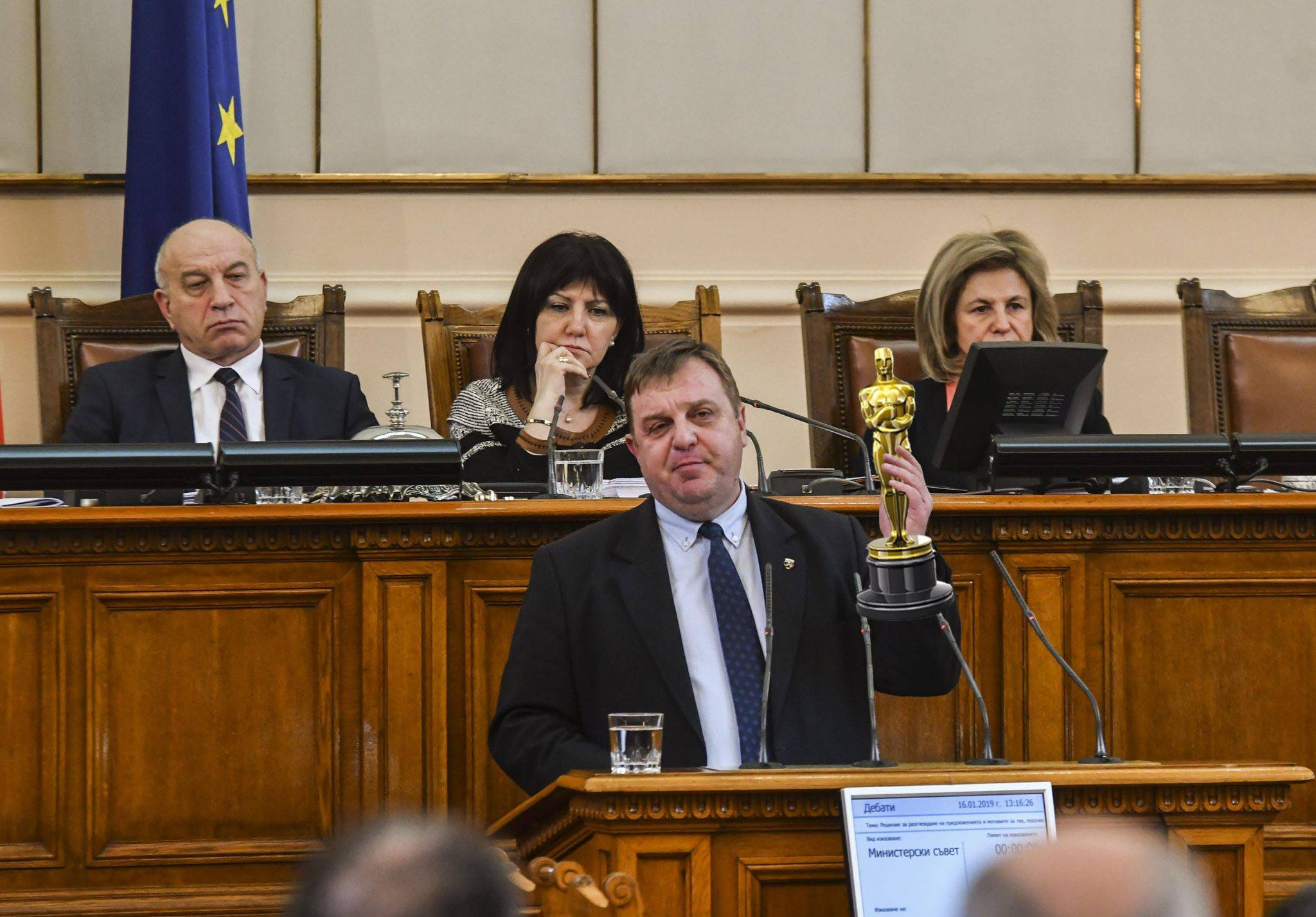 Каракачанов е големият победител в Оскарите на Brato.bg