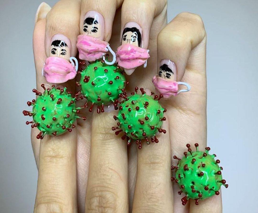 Нова Мода – Коронавирусчета върху ноктите