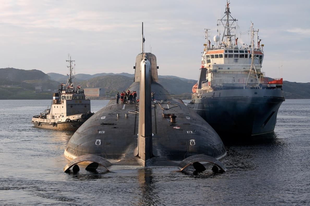 Най-голямата подводница в света (СНИМКИ)