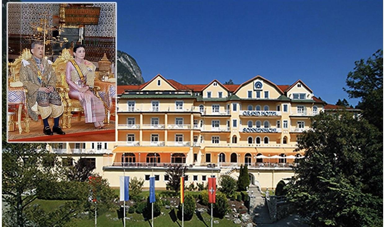 Кралят на Тайланд се самоизолира с 20 жени в Алпите