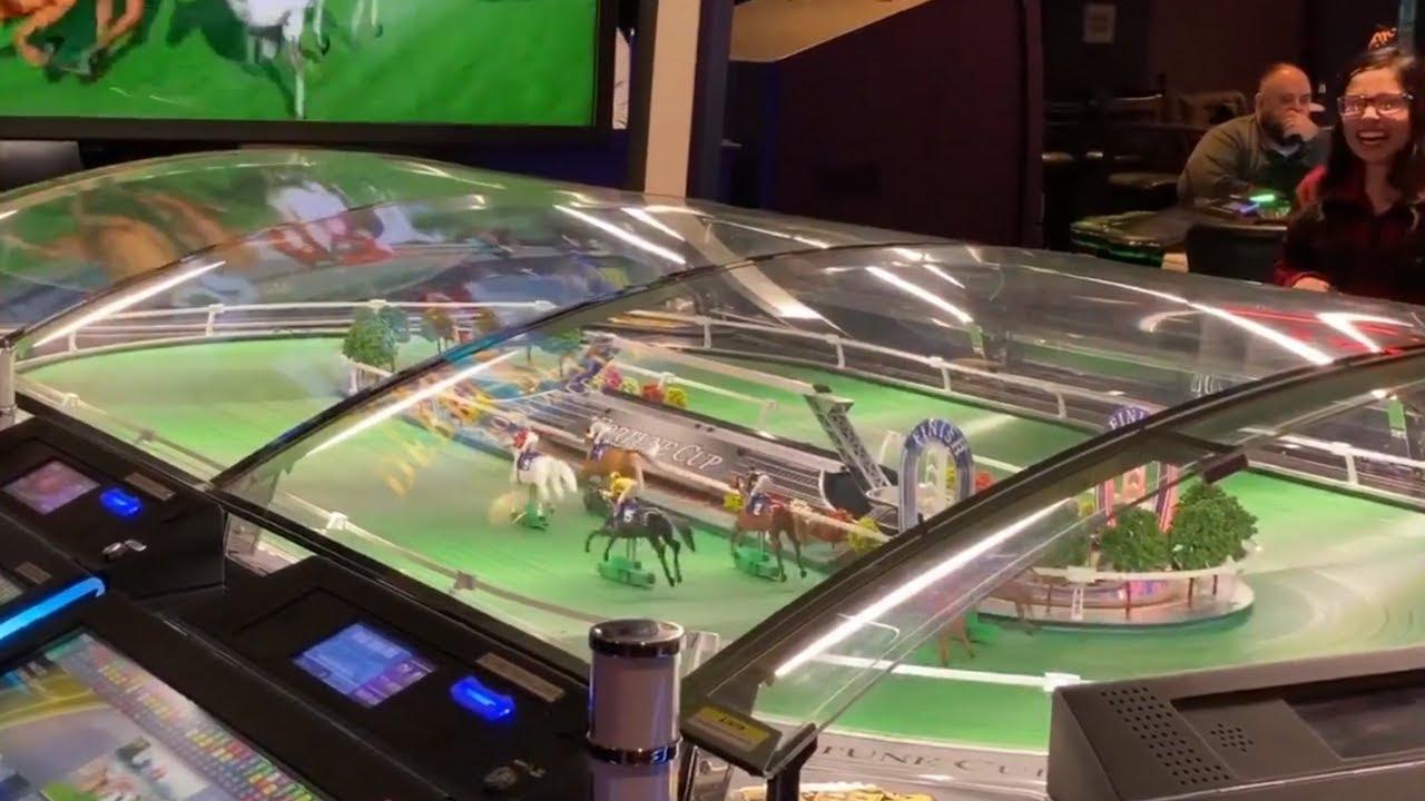 Виртуални конни надбягвания в Лас Вегас (ВИДЕО)