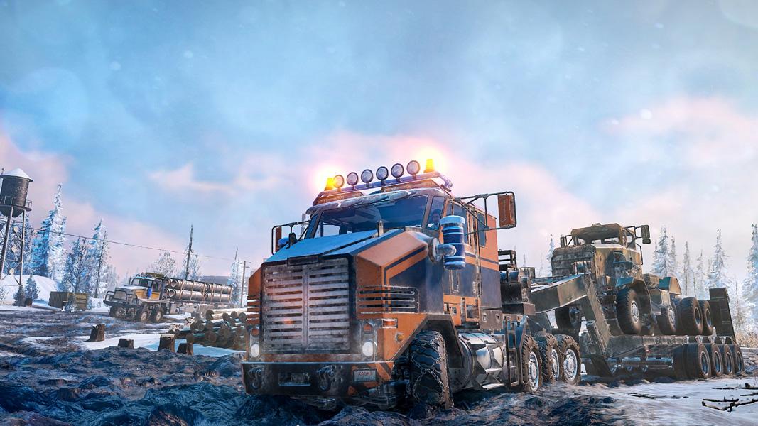 Нова видео игра ти дава възможност да караш камиони с мисии в Русия и САЩ (ВИДЕО)