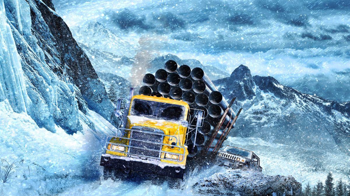 Кал, сняг и буксуване: Трейлърът на SnowRunner (ВИДЕО)