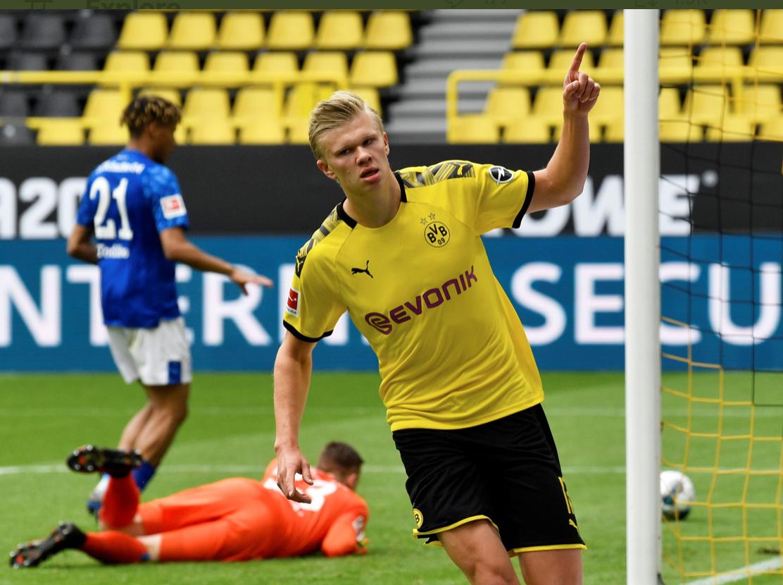 """Първи гол след паузата: Красота от """"Дортмунд"""" и Хааланд"""