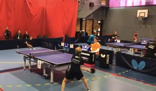 ВИДЕО: Тия са страшни! Най-лудият тенис на маса, брато