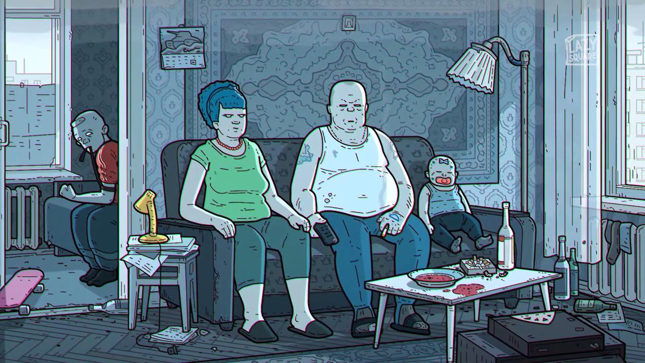 """Руснаците направиха пародия на интрото на """"Симпсън"""" (ВИДЕО)"""