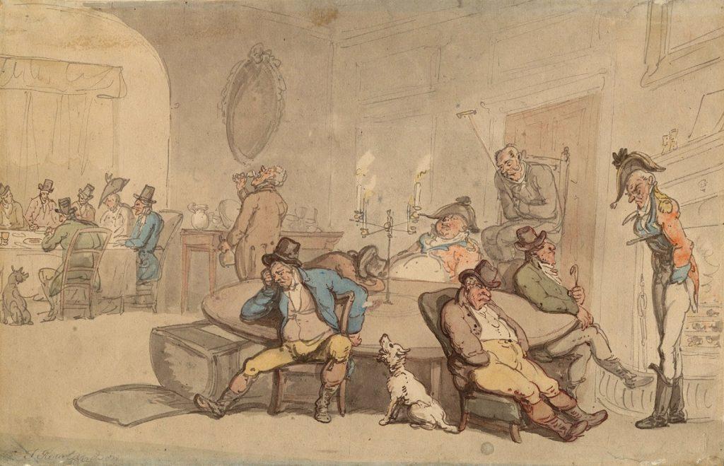 През XVIII век съществувал клуб за самозадоволяване на джентълмени