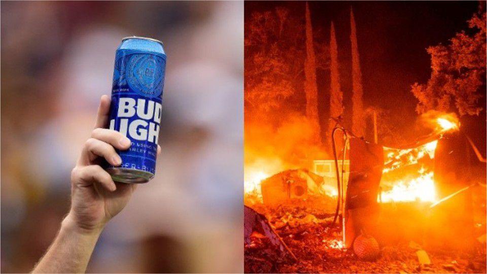 Мъж спаси от пожар дома и магазина си с помощта на бира