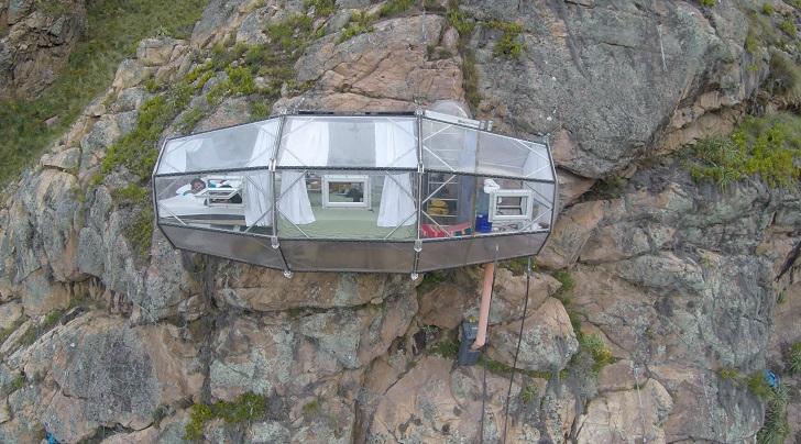 """Хотел """"Vive Skylodge"""" – да спиш на върха на Андите за 1250 лева (СНИМКИ)"""
