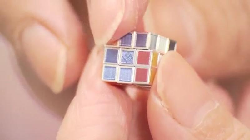 Миниатюрното Кубче на Рубик, което струва колкото една хубава кола