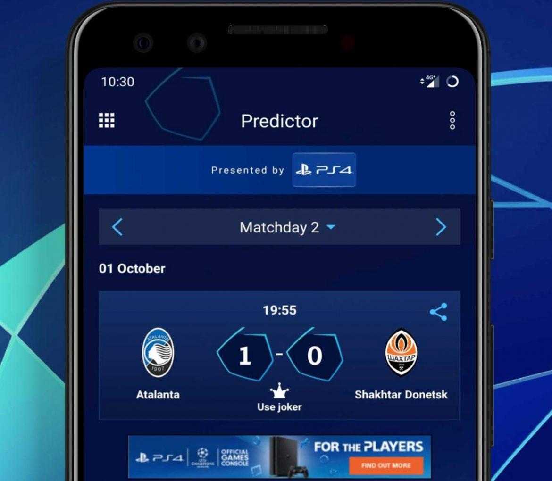 Можеш ли ги прогнозите? Играй срещу нас в ШЛ в приложението на УЕФА