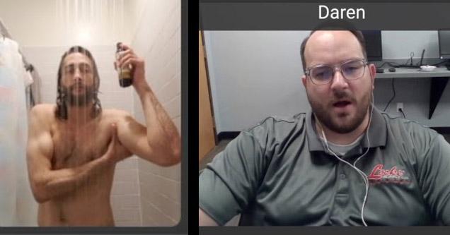 Велико: Това брато се забавлява на интервюта за работа по Zoom (ВИДЕО)