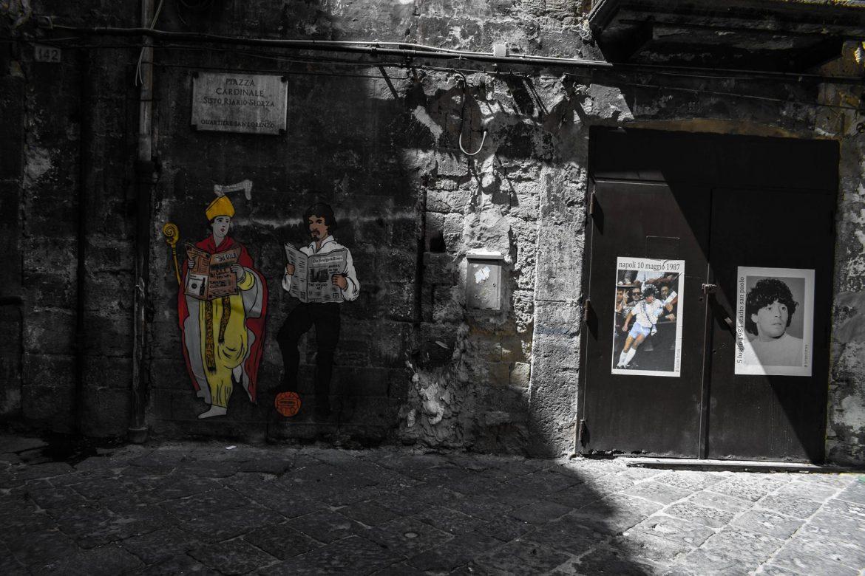 Неапол подготвя невиждано изпращане на Дон Диего