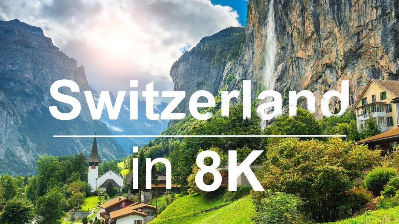 Разходи се из Швейцария чрез това 8K ULTRA HD HDR видео