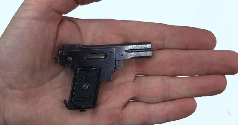 Най-малкият пистолет в света е проектиран от часовникар