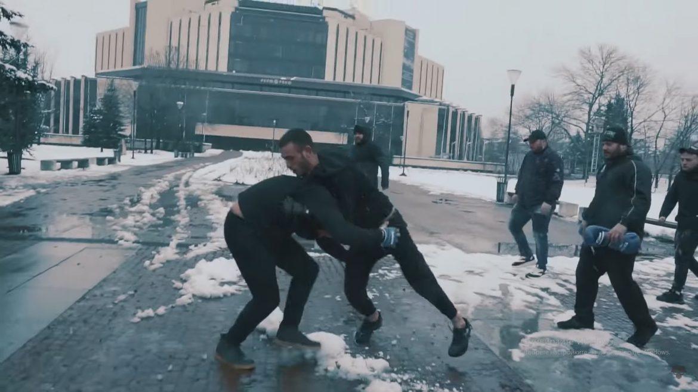 ЕКСКЛУЗИВНО! Видео от боя между Марсо от Murda Boyz и Големия AMG