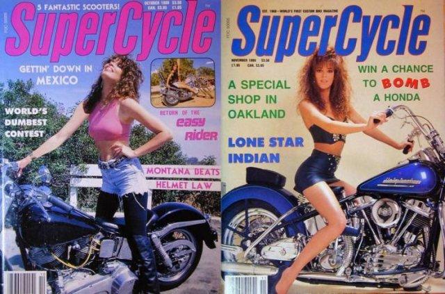 Още топ Цецки от 80-те години на кориците на мото списания (ГАЛЕРИЯ)