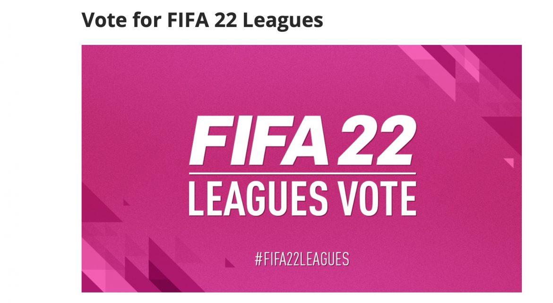 EA Sports пусна анкета: Искате ли Първа лига на FIFA22?