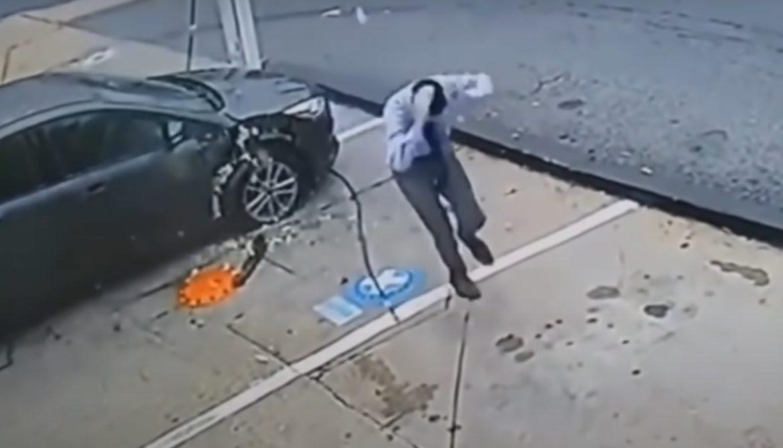 ВИДЕО: Гумите на колата гърмят и могат да те убият