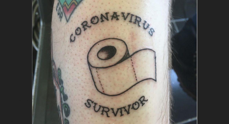 СНИМКИ: Безумни татуировки, свързани с коронавируса