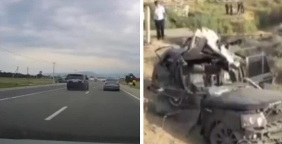 ВИДЕО: Да задминеш другите с 230 км/ч и да катастрофираш