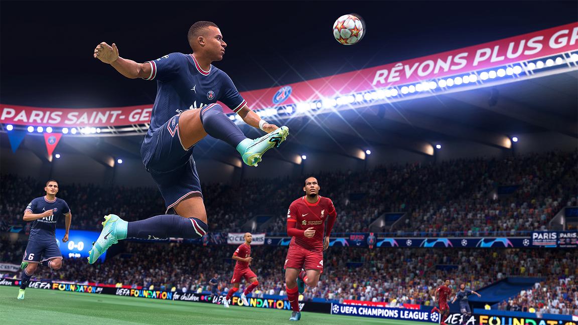 EA Sports показа нова технолагия за FIFA 22 (ВИДЕО)