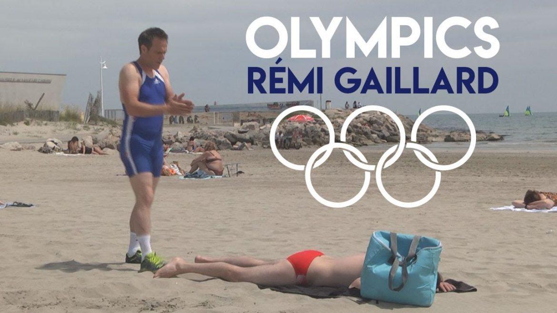 Лудият Реми Гелар и неговите Олимпийски игри (ВИДЕО)
